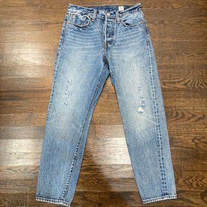 RARE Levi's Wedgie White Oak Jeans Size 27
